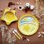 Earth Dezign ชุดผลิตภัณฑ์จานชามสำหรับเด็ก จากเยื่อไผ่ ปลอดภัยสำหรับเด็ก 5 ชิ้น thumbnail 10