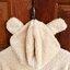 [พร้อมส่ง] ชุดนอนเสื้อขนสัตว์มีฮูดหมี+กางเกง มีสีน้ำตาล/ครีม thumbnail 34