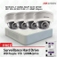 Hikvision POE Kit DS-7104NI-SN/P, DS-2CD2110F-Ix4 thumbnail 1