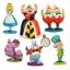 z Disney Alice in Wonderland Figure Play Set 6 Pcs ของแท้100% นำเข้าจากอเมริกา thumbnail 1