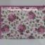 กระเป๋าเครื่องสำอางค์ นารายา ผ้าคอตตอน ทรงสี่เหลี่ยมผืนผ้า พื้นสีขาว ลายดอกกุหลาบ สีชมพู เป็นชุด 3 ชิ้น Size L,M,S (กระเป๋านารายา กระเป๋าผ้า NaRaYa) thumbnail 8