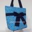 กระเป๋าสะพาย นารายา ผ้าคอตตอน สีฟ้า ลายดอกไม้ ผูกโบว์ (กระเป๋านารายา กระเป๋าผ้า NaRaYa กระเป๋าแฟชั่น) thumbnail 1