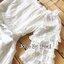 เดรสแฟชั่น ชุดเดรสโทนสีขาว เนื้อผ้าคอตตอนเนื้อหนาเย็บดีไซน์ผสมเนื้อผ้าลูกไม้ thumbnail 9