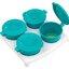 tommee tippee ถ้วยก้นสิลิโคนสำหรับเก็บอาหารมาพร้อมถาด4หลุม BPA free thumbnail 3