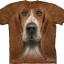 Pre.เสื้อยืดพิมพ์ลาย3D The Mountain T-shirt : Basset Hound Head thumbnail 1