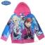 """"""" Size เด็ก 4-6-8-10 ปี """" Jacket Disney Frozen for Girl เสื้อแจ็คเก็ต เสื้อกันหนาวแขนยาว เด็กผู้หญิง สกรีนลาย Frozen สีฟ้า รูดซิป มีหมวก(ฮู้ด)ใส่คลุมกันหนาว กันแดด ใส่สบาย ดิสนีย์แท้ ลิขสิทธิ์แท้ thumbnail 6"""