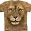 Pre.เสื้อยืดพิมพ์ลาย3D The Mountain T-shirt : Lion Warrior thumbnail 1