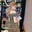 เดรสแฟชั่น Mini Dress เดรสดิ้นทอง สลับ ดำ เนื้อผ้ายืดๆหน่อย เข้ารูปช่วงเอว thumbnail 4