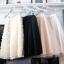 กระโปรงยาวแฟชั่น กระโปรงทรงเอ กระโปรง tutu ผู้ใหญ่ Princess tutu skirt ผ้าตาข่าย 2 ชั้น กระโปรงออกงาน thumbnail 2