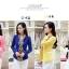 Pre-Order เสื้อสูทแฟชั่นเกาหลี เสื้อสูทเข้ารูป แขนยาว ซับในครึ่งตัว ไม่มีปก สีลูกกวาด สีชมพูหวาน thumbnail 2