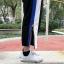 [Preorder] กางเกงขายาวมีซิปผ่าเปิดข้างโชว์ขา มีสีดำ/แดง thumbnail 10