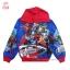ฮ (ไซส์ M) เสื้อแจ็คเก็ต เสื้อกันหนาวแขนยาว เด็กผู้ชาย สกรีนลาย Super Hero The Avengers สีน้ำเงิน รูดซิป มีหมวก(ฮู้ด) ใส่คลุมกันหนาว กันแดด สุดเท่ห์ ใส่สบาย ลิขสิทธิ์แท้ (สำหรับเด็กอายุ 6-7 ปี ) thumbnail 1