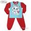 ( S-M-L-XL ) ชุดนอน Disney Marie เสื้อแขนยาวสีฟ้า กางเกงขายาวสีแดงสุดน่ารัก ดิสนีย์แท้ ลิขสิทธิ์แท้(สำหรับเด็กอายุ 4-10 ปี) thumbnail 5