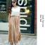 Pre-Order กระโปรงพลีท ผ้าชีฟอง ปี 2014 สไตล์โบฮีเมียน ราคาเบา ๆ น่าเป็นเจ้าของที่สุด สีเนื้อ thumbnail 1
