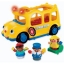 z Fisher Price Little People Lil' Movers School Bus. thumbnail 1