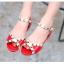 รองเท้าแฟชั่นเด็กผู้หญิง สีแดง thumbnail 6