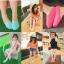 ถุงเท้าแบบสั้นคลุมเฉพาะเท้า ไซส์ 7-10 แพ็ค 3 คู่ thumbnail 1