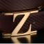พรีออเดอร์ เข็มขัดผู้ชาย เข็มขัดหนังแท้สีดำ หัว Z สีเงิน เวอร์ชั่นเกาหลี thumbnail 6