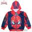 ( Size S-M-L ) เสื้อแจ็คเก็ต Spiderman เสื้อกันหนาว เด็กผู้ชาย สีน้ำเงิน รูดซิป มีหมวก(ฮู้ด) ใส่คลุมกันหนาว กันแดด สุดเท่ห์ ใส่สบาย ลิขสิทธิ์แท้ (ไซส์ S-M-L-XL ) thumbnail 1