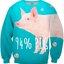 Pre-Order เสื้อยืดพิมพ์ลาย MR.GUGU & Miss GO : PIG SWEATER thumbnail 1