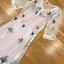 เดรสแฟชั่น เดรสยาวผ้าลูกไม้สีขาวปักลายดอกไม้ ตัวนี้เป็นสไตล์แบรนด์ sretsis thumbnail 25