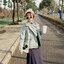 [พร้อมส่ง] เสื้อแจ็คเก็ตน่ารักสไตล์เกาหลี มีสีชมพู/เทา/เขียว thumbnail 16