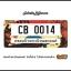 กรอบป้ายทะเบียนรถยนต์ CARBLOX ระหัส CB 0014 ลายลายแนวๆฮิ๊ป thumbnail 1