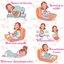 หมอนอุ้มรัก Jasmine หมอนสำหรับคุณแม่ตั้งครรภ์ ช่วยคุณแม่หลับสบาย หลังคลอดใช้เป็นหมอนให้นมได้ thumbnail 15
