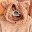 [พร้อมส่ง] ชุดนอนเสื้อขนสัตว์มีฮูดหมี+กางเกง มีสีน้ำตาล/ครีม thumbnail 27