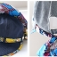 Pre-order หมวกแฟชั่น หมวกแก็ปปีกกว้าง หมวกฤดูร้อน กันแดด กันแสงยูวี สีเบจแต่งด้วยผ้าพิมพ์ลายดอกไม้ thumbnail 8