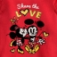 Mickey and Minnie Mouse Disney Cuddly Bodysuit for Baby (Size 18-24 month) thumbnail 3