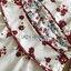 เดรสแฟชั่น เดรสสั้นสีขาวอมครีม พิมพ์ลายดอกไม้สีแดง thumbnail 17