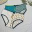 [พร้อมส่ง] กางเกงในลายสับปะรดเซ็ท 4 ตัว thumbnail 1