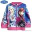 """"""" Size เด็ก 4-6-8-10 ปี """" Jacket Disney Frozen for Girl เสื้อแจ็คเก็ต เสื้อกันหนาวแขนยาว เด็กผู้หญิง สกรีนลาย Frozen สีฟ้า รูดซิป มีหมวก(ฮู้ด)ใส่คลุมกันหนาว กันแดด ใส่สบาย ดิสนีย์แท้ ลิขสิทธิ์แท้ thumbnail 7"""