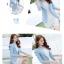 เสื้อสูทเบลเซอร์ มีซับในอย่างดี รุ่น R8028 สีฟ้า thumbnail 3