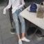 [Preorder] กางเกงยีนส์ขายาวมีรูขาด thumbnail 10