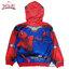 ( Size S-M-L-XL ) เสื้อแจ็คเก็ต Spiderman เสื้อกันหนาว เด็กผู้ชาย สีแดง รูดซิป มีหมวก(ฮู้ด) ใส่คลุมกันหนาว กันแดด สุดเท่ห์ ใส่สบาย ลิขสิทธิ์แท้ (ไซส์ S-M-L-XL ) thumbnail 2