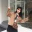 [พร้อมส่ง] เสื้อแจ๊คเก็ตคอปกหนังสัตว์ทรงหลวมสวยคลาสสิค มีสีเทา/กาแฟ thumbnail 20