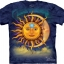Pre.เสื้อยืดพิมพ์ลาย3D The Mountain T-shirt : Sun Moon thumbnail 1