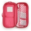 z 2 of Badger Basket Doll Travel Case with Bed and Bedding - Pink thumbnail 2