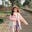 [พร้อมส่ง] เสื้อแจ็คเก็ตน่ารักสไตล์เกาหลี มีสีชมพู/เทา/เขียว thumbnail 3