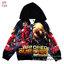 """"""" ( S-M-L-XL ) เสื้อแจ็คเก็ต เสื้อกันหนาว เด็กผู้ชาย สกรีนลาย The Avengers - Iron Man สีดำ รูดซิป มีหมวก(ฮู้ด) ใส่คลุมกันหนาว กันแดด สุดเท่ห์ ใส่สบาย ลิขสิทธิ์แท้ (ไซส์ S-M-L-XL ) thumbnail 6"""