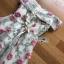 เดรสแฟชั่น มินิเดรสผ้าทูลเลปักลายดอกไม้สีชมพูทรงเปิดไหล่ thumbnail 18