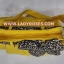 กระเป๋าสะพาย นารายา ผ้าคอตตอน นาโน สีเหลือง ผูกโบว์ ลายเสือดาว ด้านข้าง (กระเป๋านารายา กระเป๋าผ้า NaRaYa กระเป๋าแฟชั่น) thumbnail 6