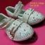 16A111-B1 Beige รองเท้าเด็กผู้หญิง สีเบจ ใส่ไปงานแต่ง งานเลี้ยง ไซส์26-30 thumbnail 3