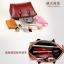 (Pre-order) กระเป๋าหนังแท้ กระเป๋าสะพายผู้หญิง หนังเรียบ แบบคลาสสิค สไตล์ยุโรป อเมริกา สีน้ำตาล thumbnail 5