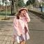 [พร้อมส่ง] เสื้อแจ็คเก็ตน่ารักสไตล์เกาหลี มีสีชมพู/เทา/เขียว thumbnail 6