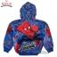 """"""" ( S-M-L-XL """" เสื้อแจ็คเก็ต Spiderman เสื้อกันหนาว เด็กผู้ชาย สีน้ำเงิน รูดซิป มีหมวก(ฮู้ด) ใส่คลุมกันหนาว กันแดด สุดเท่ห์ ใส่สบาย ลิขสิทธิ์แท้ (ไซส์ S-M-L-XL ) thumbnail 7"""
