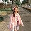 [พร้อมส่ง] เสื้อแจ็คเก็ตน่ารักสไตล์เกาหลี มีสีชมพู/เทา/เขียว thumbnail 2