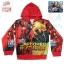 ( S-M-L-XL ) เสื้อแจ็คเก็ต เสื้อกันหนาว เด็กผู้ชาย สกรีนลาย The Avengers - Iron Man สีแดง รูดซิป มีหมวก(ฮู้ด) ใส่คลุมกันหนาว กันแดด สุดเท่ห์ ใส่สบาย ลิขสิทธิ์แท้ (ไซส์ S-M-L-XL ) thumbnail 3
